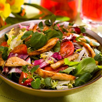 نتیجه تصویری برای salad hen