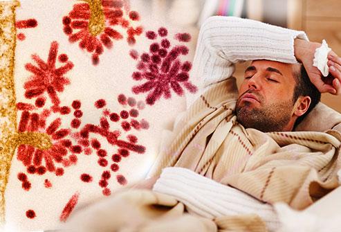 درمان های طبیعی و خانگی برای آنفولانزا :