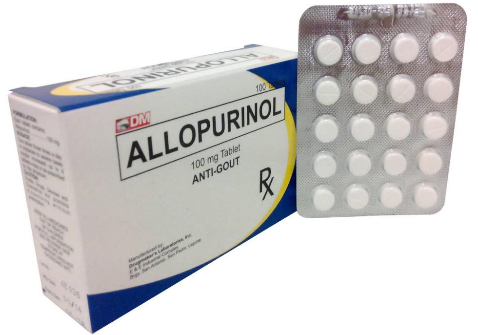 عوارض جانبی قرص آلوپورینول