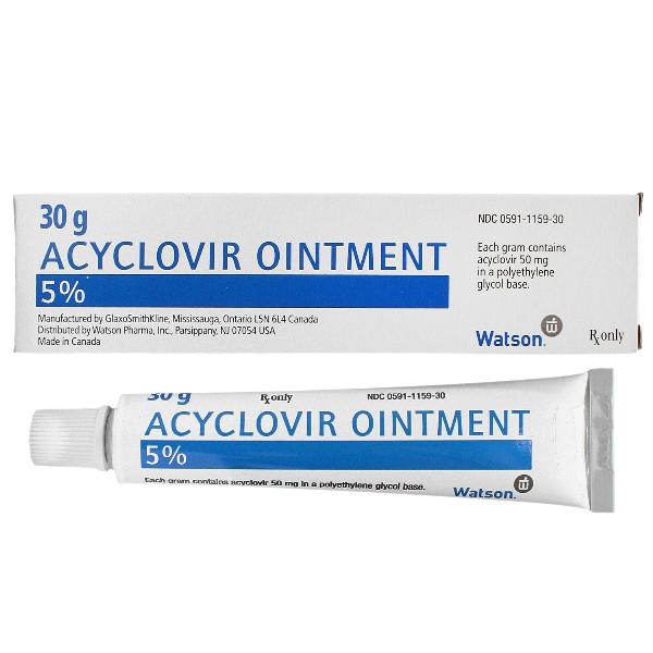 آسیکلوویر acyclovir - عوارض - تداخل دارویی
