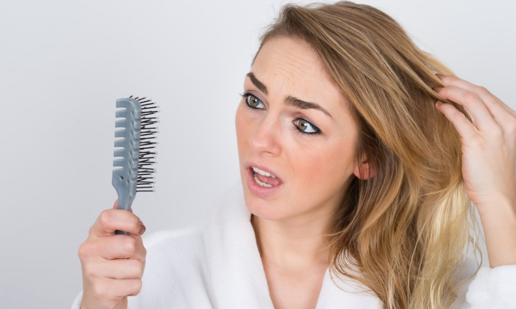 انواع ریزش مو
