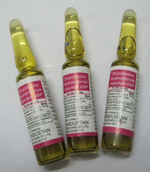 شربت دی سیکلومین - عوارض و تداخل دارویی - Dicyclomine
