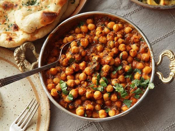 چانا ماسالا - غذای هندی