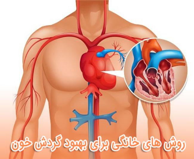 روش های خانگی برای بهبود گردش خون