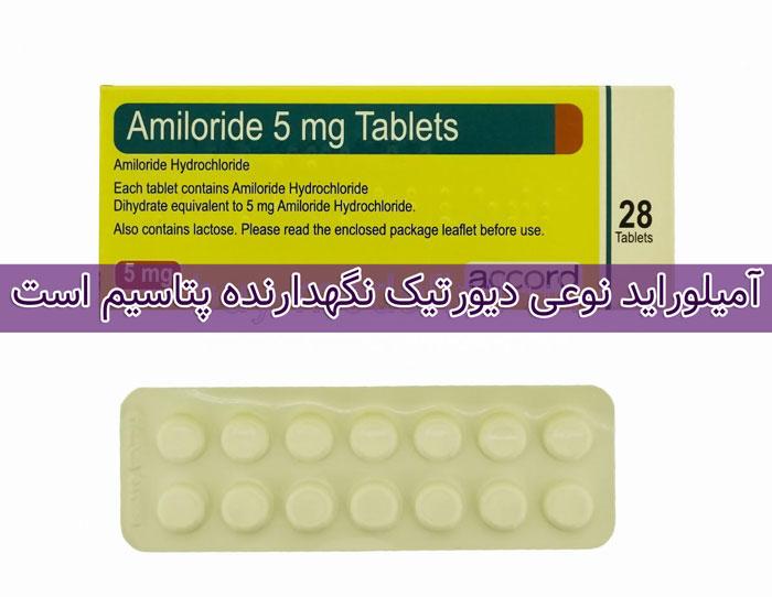 آمیلوراید - تداخل دارویی - عوارض جانبی Amiloride
