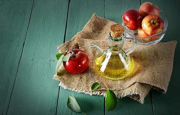 سرکه سیب طبیعی برای رفع میلیا
