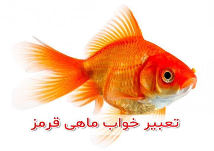 تعبیر خواب ماهی قرمز زنده