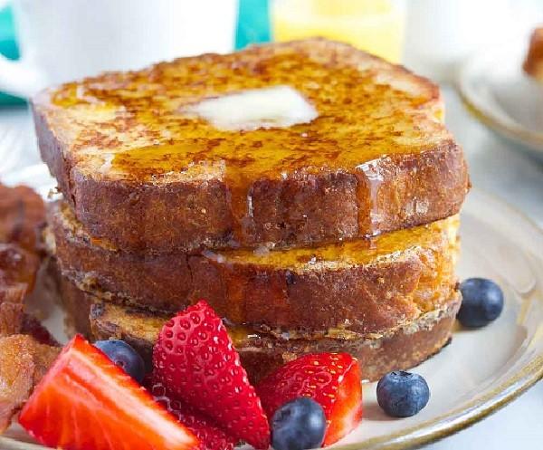 طرز تهیه نان تست فرانسوی برای صبحانه,فرنچ تست,طرز تهیه فرنچ تست