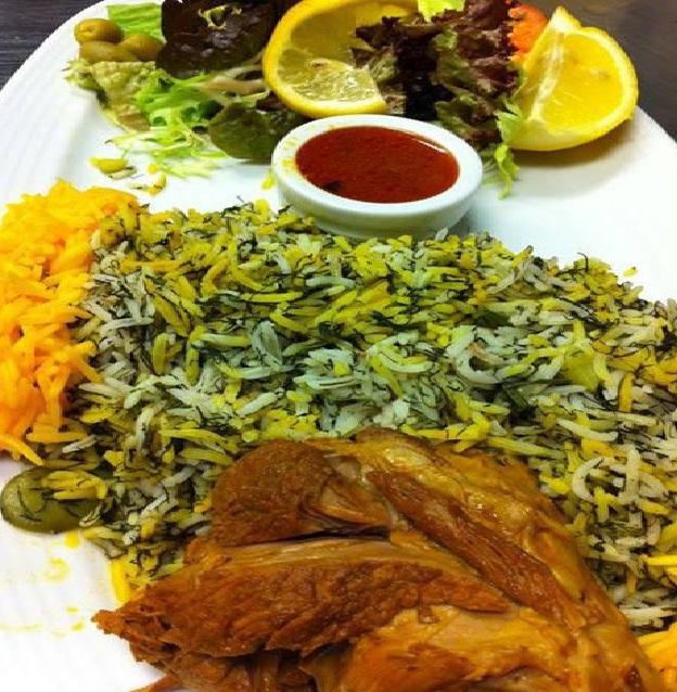 طرز تهیه باقالی پلو با مرغ خیلی خوشمزه,آموزش پخت باقالی پلو مجلسی با مرغ