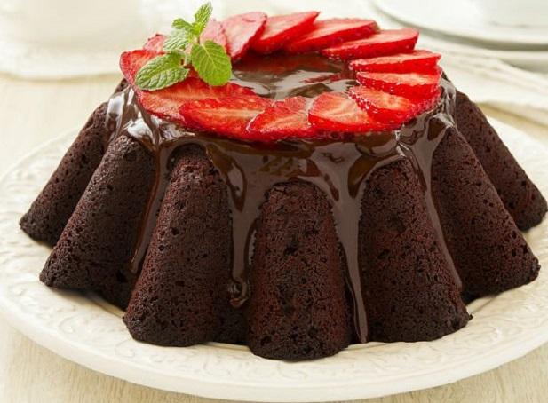 درست کردن کیک شکلاتی و آموزش پخت کیک شکلاتی ساده