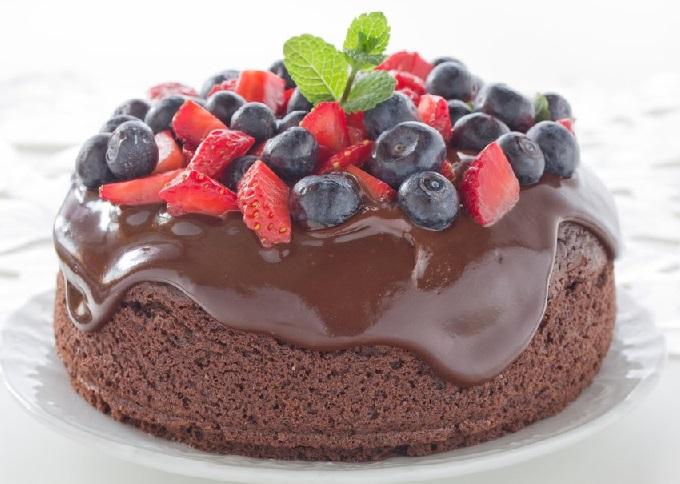 طرز تهیه کیک شکلاتی ترد و خوشمزه,طرز تهیه کیک شکلاتی اسفنجی