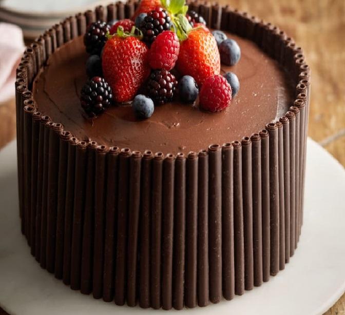 طرز تهیه کیک شکلاتی آسان,طرز تهیه کیک شکلاتی