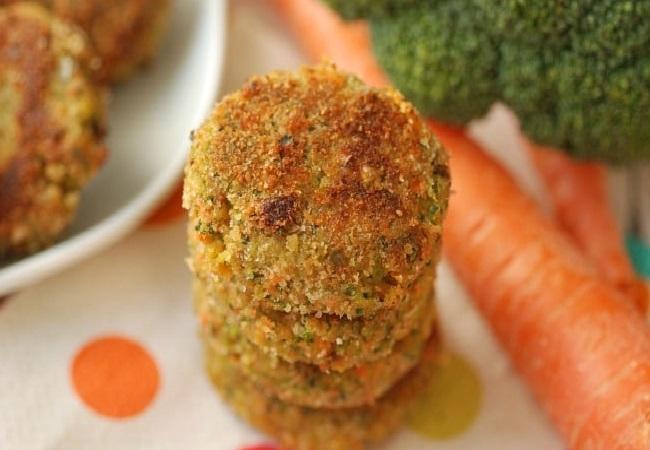 طرز تهیه ناگت مرغ و سبزیجات رژیمی و طرز تهیه ناگت رژیمی و ناگت سبزیجات