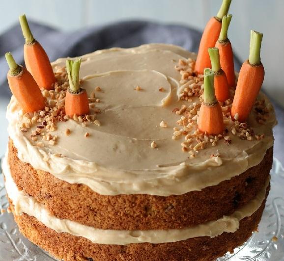 مواد لازم کیک هویج و طرز تهیه کیک هویج و نکات مهم تهیه کیک هویج و دارچین